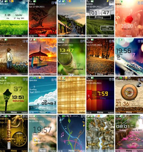 240x320 nth themes pack for nokia s40 game mobile free темы для nokia s40 31 мобильные темы 240x320 nokia nth