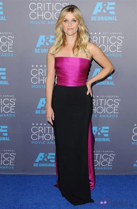 Critics Choice Awards 2015 Esta Es La Lista Completa De Ganadores Internacional Reese Witherspoon En Los Critics Choice Awards 2015