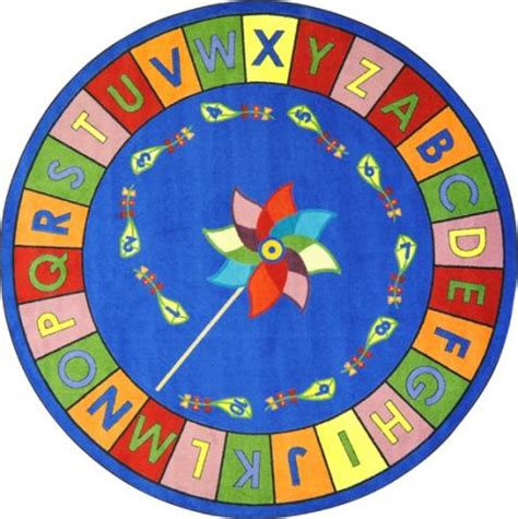 abc carpets rugs alphabet pinwheel abc carpet learner supply