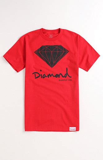 diamond supply co mill tee at pacsun com from pacsun tops diamond supply co script logo black tee at pacsun com