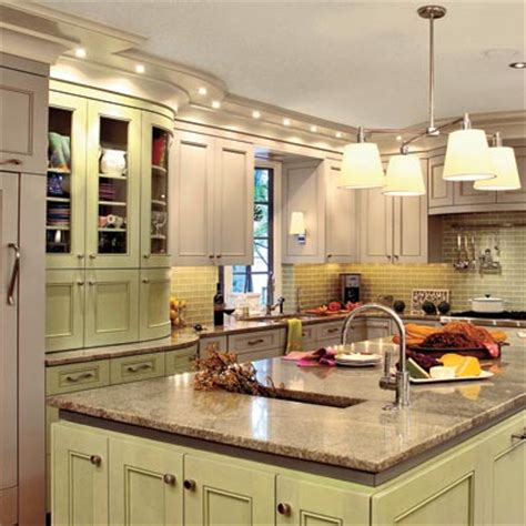 pistachio green kitchens simple home decoration