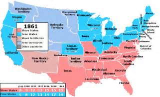1861 united states map the republican dilemma on a map goplifer