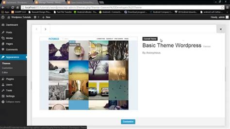 wordpress themes to html convert how to convert html theme into wordpress theme youtube