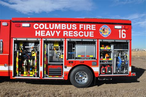 rescue columbus ohio columbus oh fd heavy rescue svi trucks
