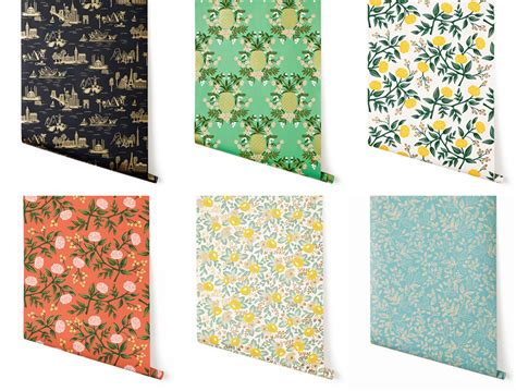 rifle paper company wallpaper rifle paper co wallpaper 2014 lobster and swan