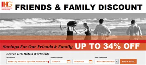 Friends And Family Discount At Prescriptives by Intercontinental Hotels Ihg Rewards Club
