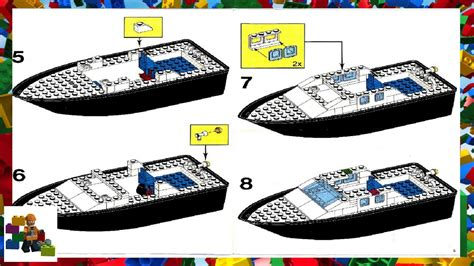 lego rescue boat lego police boat 4010 www topsimages