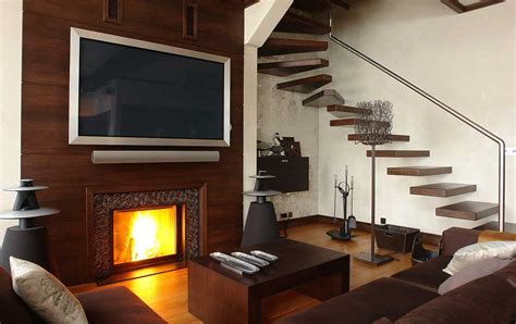 Led Tv Fireplace by Tv Fireplace Design Some Problems On Pros And Cons