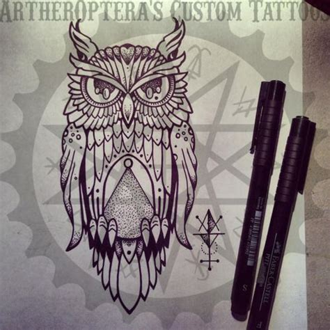 illuminati owl tattoo design illuminati owl drawing