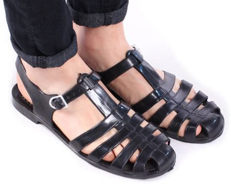 mens jelly boots image gallery jelly sandals for