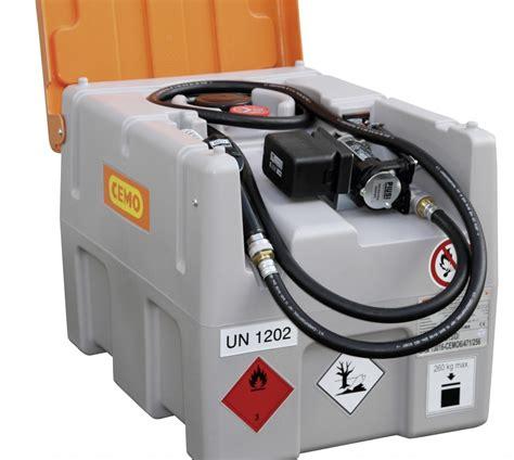 Accu Mobil Diesel dieseltank als dt mobiel easy met li lon accusysteem kruse