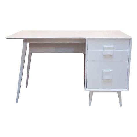 Mid Century Modern Desks For Sale Mid Century Modern Lacquered Single Pedestal Desk For Sale At 1stdibs