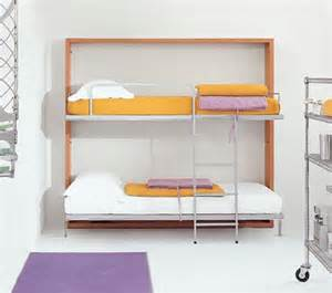 Folding Bunk Bed Bedroom Idea Fold Out Loft Bed Designs