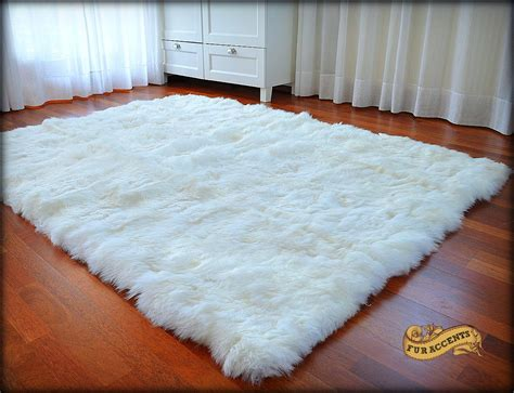 Fur Area Rug Fur Accents Thick Faux Fur Area Rug Shag Fur By