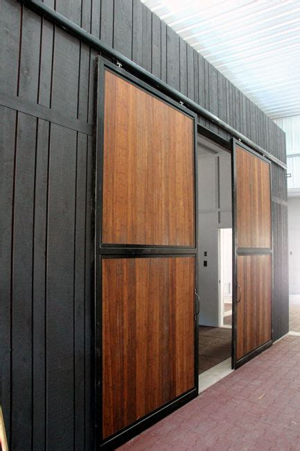 commercial barn doors commercial barn doors portfolio cwd for new den closet