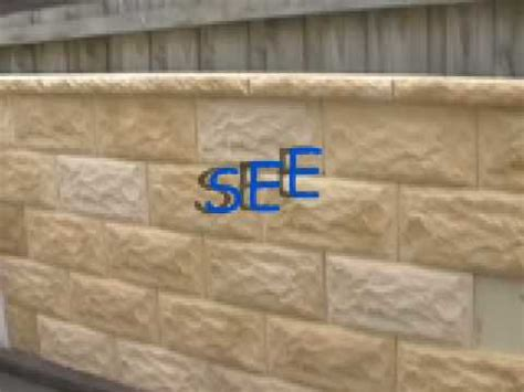 build a fake sandstone wall with Ultralight Stone   YouTube
