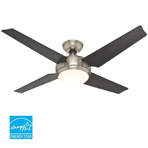 hunter hugger ceiling fans with lights hunter 52quot low profile hugger ceiling fan w light