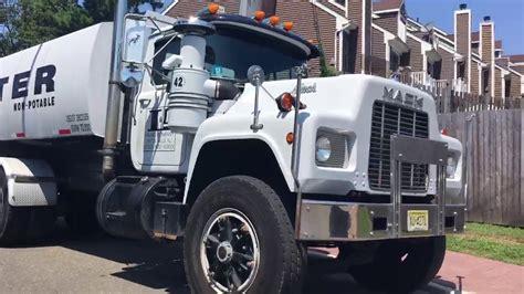 r l mack truck l l paving single axel mack dump truck and mack r model