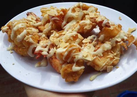 cara membuat cakwe udang mayonaise udang mayonaise resep masakan indonesia