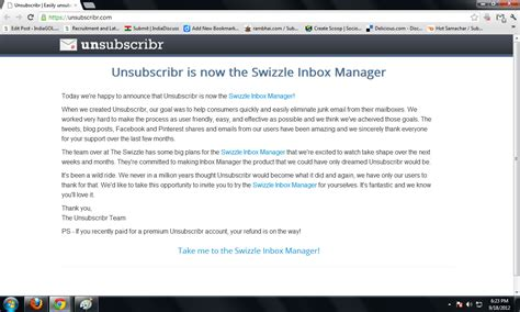 how to unsubscribe bulk newsletter from gmail step by step