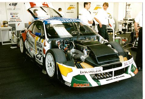 opel calibra race car alex wurz joest racing opel calibra fia international