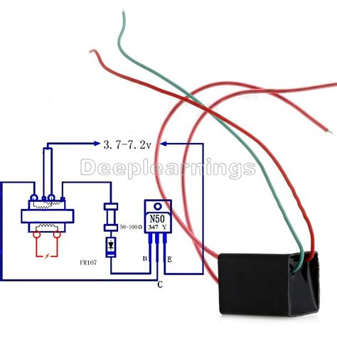 high voltage pulse generator diy dc 3 6v to 20kv low liter boost step up power module high