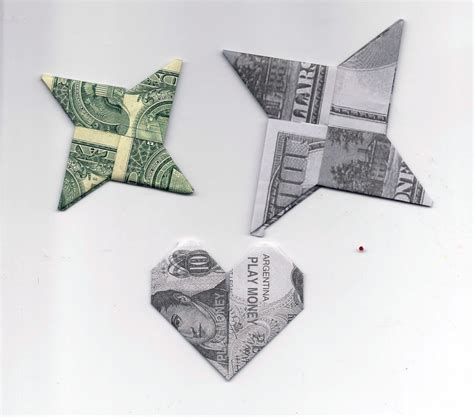 Money Paper Folding - origami with money a by kath kathy harney