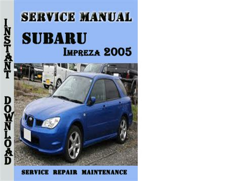 car repair manuals online free 2005 subaru baja windshield wipe control service manual pdf 2005 subaru impreza transmission service repair manuals subaru factory