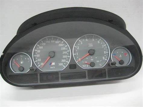 how cars run 2003 bmw m3 instrument cluster buy bmw e46 smg m3 instrument cluster speedo canadian kmh 124608 01 02 03 04 05 06 motorcycle in