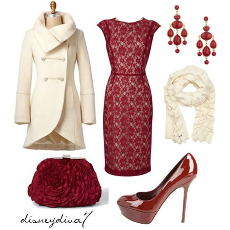 christmas party polyvore