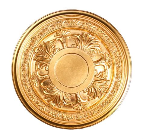 Gold Ceiling Medallion by Ceiling Medallion Polyurethane Decorative Fdc 0362 Gold