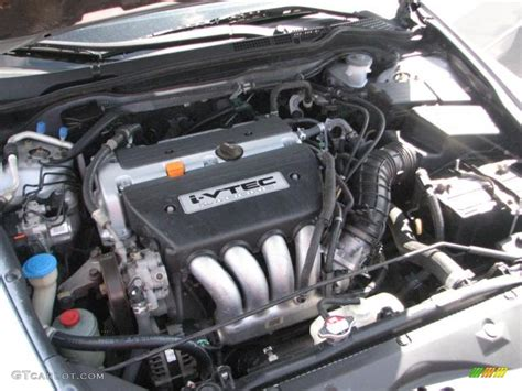 2003 Honda Accord Engine by 2003 Honda Accord Ex L Sedan 2 4 Liter Dohc 16 Valve I
