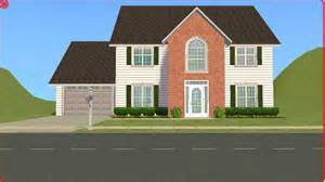 four homes sims 2 lot downloads 4 bedroom family house