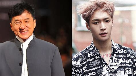 exo movie jackie chan exo lay s movie on hold sbs popasia