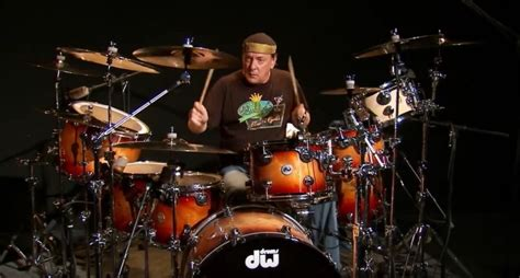 sheck wes drum kit neil peart s time machine rehearsal drums