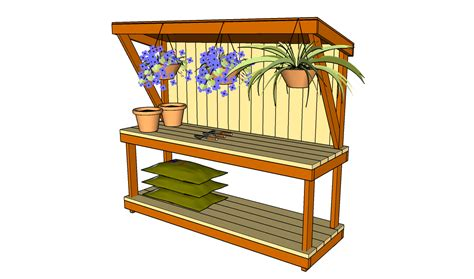 outdoor garden work bench pdf plans outdoor garden workbench plans download dremel