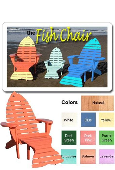 fish adirondack chair pattern 17 best images about adirondack fish chairs on