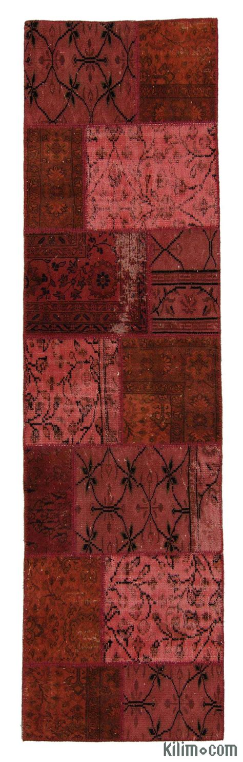 Patchwork Runner - k0006096 dyed turkish patchwork runner