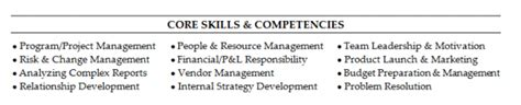 Competencies Resume Exles by Competencies Resume Cover Letter