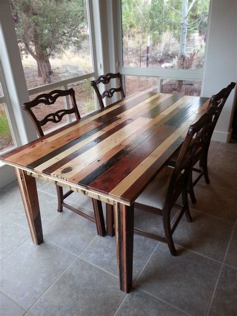build  dining room table   pallets