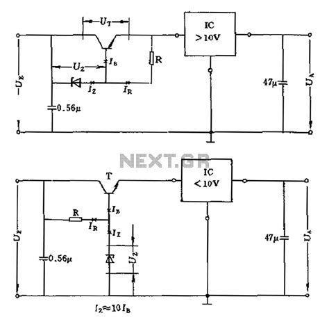 high voltage regulator circuit diagram circuit and