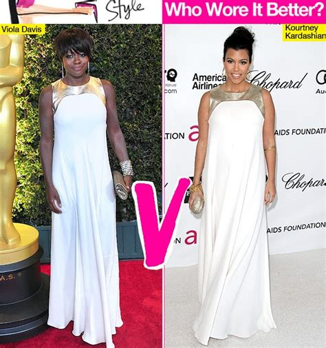 Who Wore Erica Davis Better by Kourtney V Viola Davis Who Looked Best In