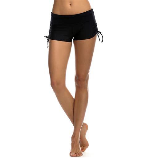 boy short swimsuit bottoms for women women shorts plain bikini swim swimwear lady boy style
