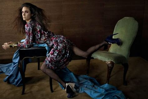 More Of Balenciagas 2008 Advertising Caign With Connelly by Connelly For Balenciaga Fall Winter 2009 10 Ad