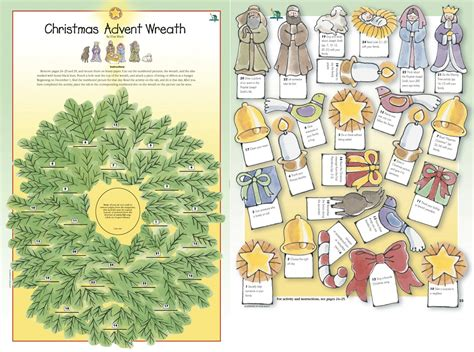 printable advent calendar christian religious advent clipart 80