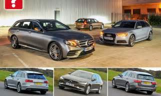 Who Makes Mercedes Who Makes The Best Posh Estate Audi Mercedes Or Volvo
