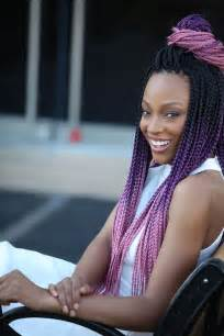medium box braids with color 40 stunning medium box braids to do yourself