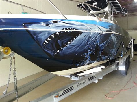 Custom Boat With custom boat wraps images