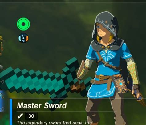 discord zelda bot diamond sword minecraft the legend of zelda breath of