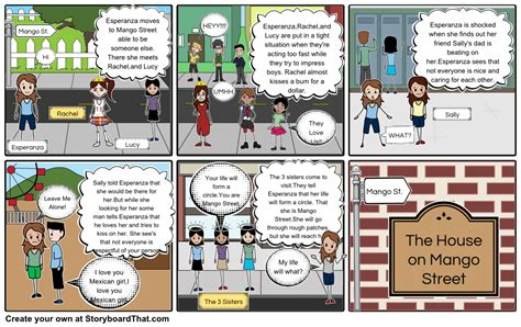 printable the house on mango street the house on mango street story board storyboard